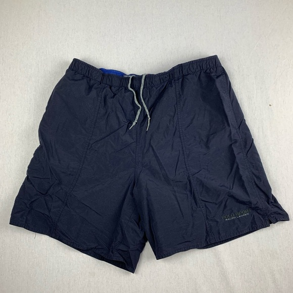 Polo by Ralph Lauren Other - Vintage Ralph Lauren Polo Sport Navy Nylon Shorts